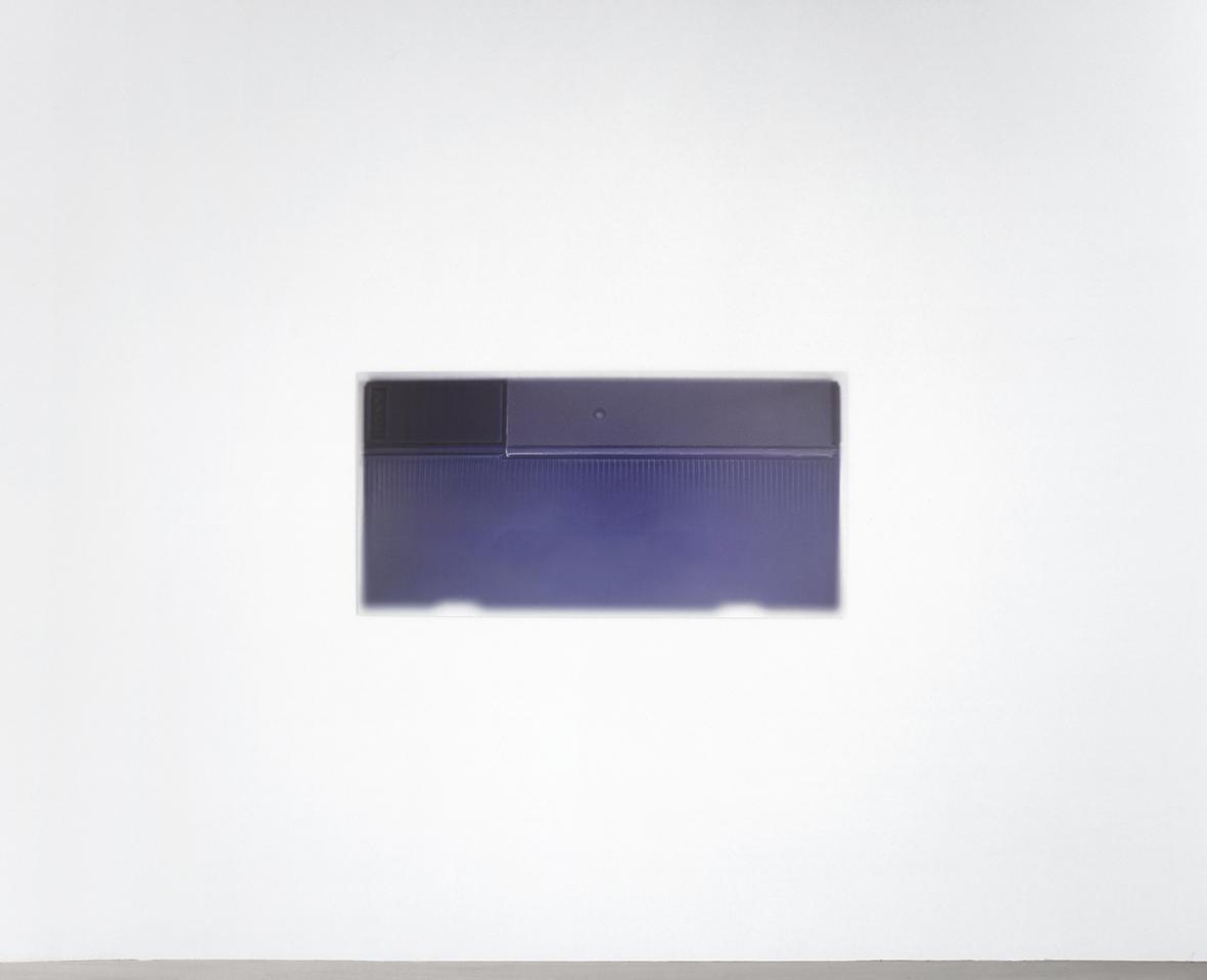 """""""DV"""" Pigment print on aluminium, 60 x 120 c"""